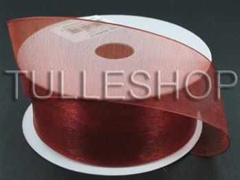 3/8 Inch Copper Organza Ribbon