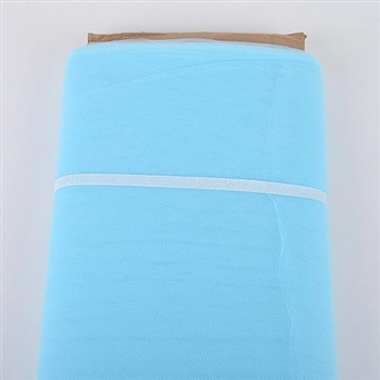 Light Blue 54 Inch Tulle Bolt