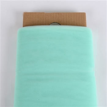 Mint Green 54 Inch Tulle Bolt