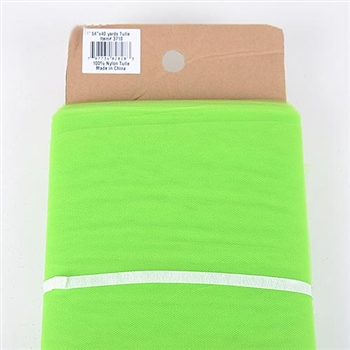 Apple Green 54 Inch Tulle Bolt