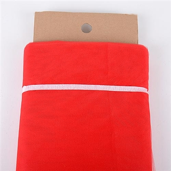 Red 54 Inch Nylon Tulle Bolt