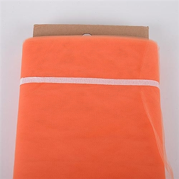 Orange 54 Inch Tulle Bolt