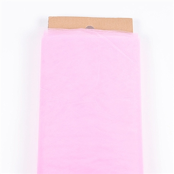 Paris Pink 54 Inch Tulle Bolt