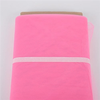 Hot Pink 54 Inch Tulle Bolt