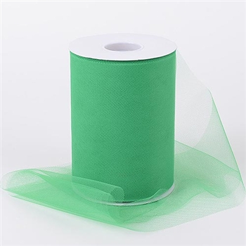 Emerald 6 Inch Tulle Roll 100 Yards