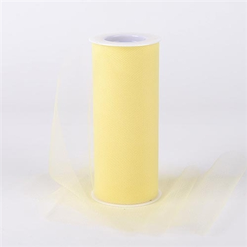 Baby Maize 6 Inch Tulle Roll 25 Yards