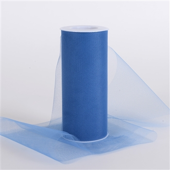 Periwinkle Blue 6 Inch Tulle Roll 25 Yards