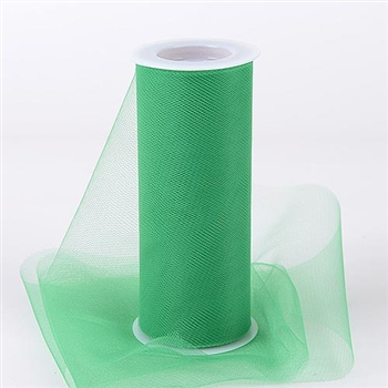 Emerald 6 Inch Tulle Roll 25 Yards