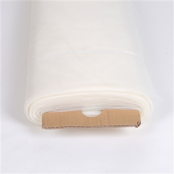 Ivory 108 Inch Nylon Tulle Bolt 50 Yards