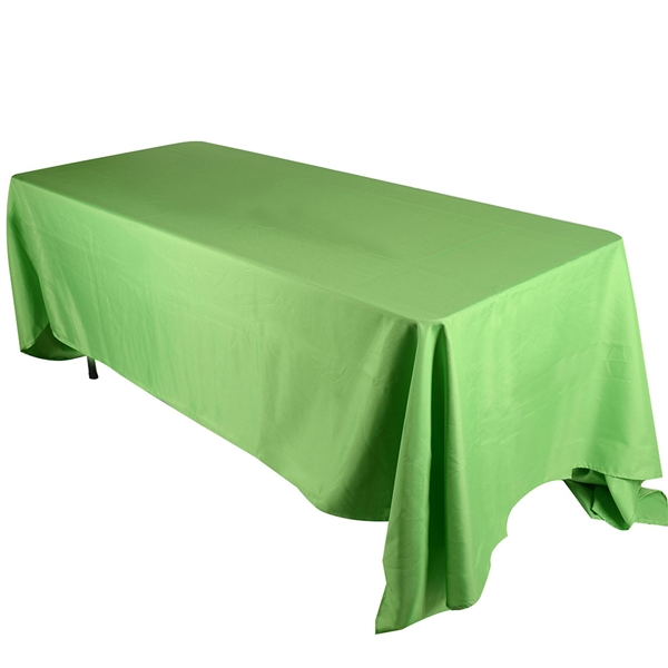 Apple Green 90 x 132 Inch Rectangle Tablecloths