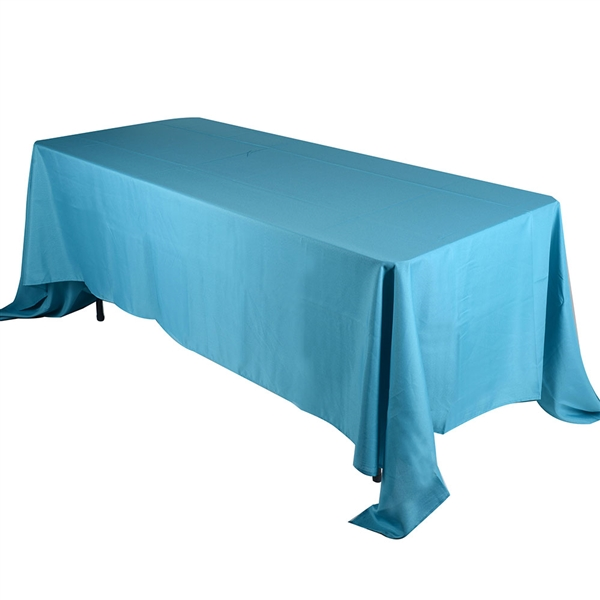Turquoise 90 x 132 Inch Rectangle Tablecloths