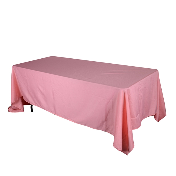 Coral 90 x 132 Inch Rectangle Tablecloths