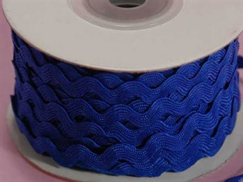 Royal Blue Ric Rac Trim