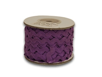 Purple Ric Rac Trim