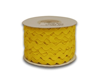 Yellow Ric Rac Trim