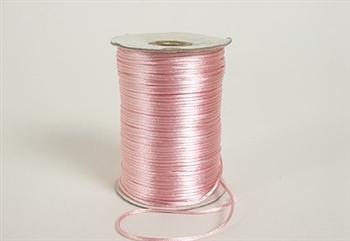 Rat Tail Satin Cord Light Pink