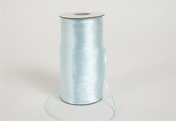 Rat Tail Satin Cord Light Blue