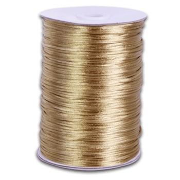 Rat Tail Satin Cord Gold