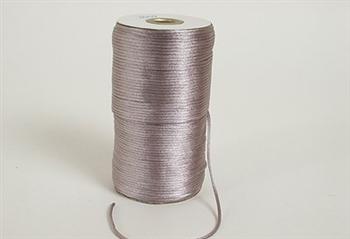 Rat Tail Satin Cord Silver