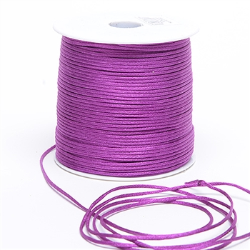 Purple Haze 3 mm Rattail Satin Cord 100 Yards