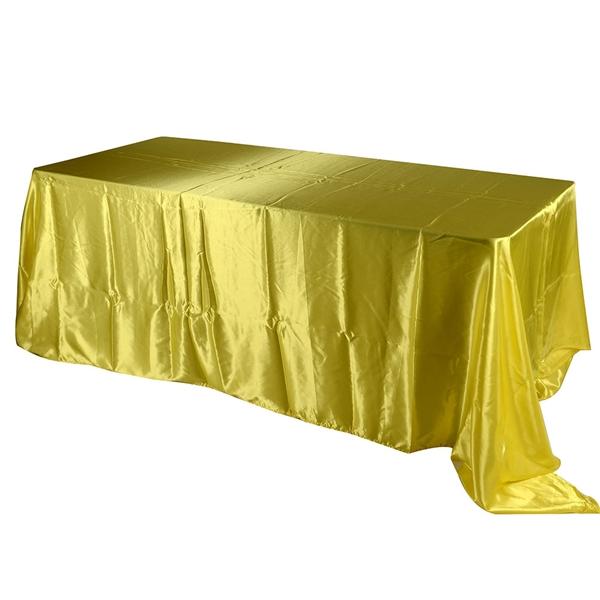 Daffodil 90 Inch x132 Inch Rectangular Tablecloths