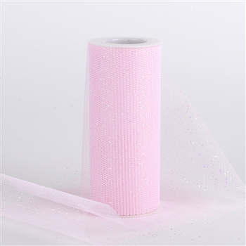 Light Pink Glitter Net 6x10 Yards