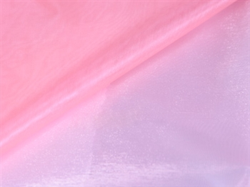 Light Pink Wedding Organza Fabric Decor 28x6 Yards