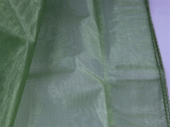 Spring Moss Wedding Organza Fabric Decor 28x6 Yards