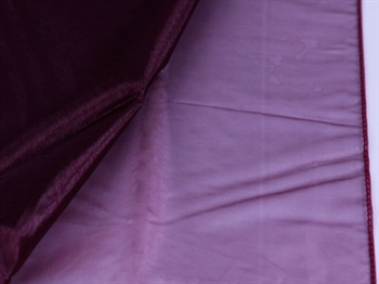 Burgundy Wedding Organza Fabric Decor 28x6 Yards