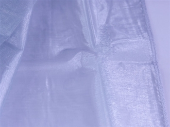 Silver Wedding Organza Fabric Decor 28x6 Yards
