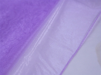 Lavender Wedding Organza Fabric Decor 28x6 Yards
