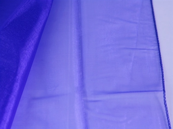 Royal Blue Wedding Organza Fabric Decor 58x10 Yards