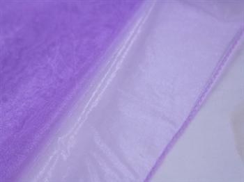 Lavender Wedding Organza Fabric Decor 58x10 Yards