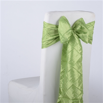 Apple Pintuck Satin Chair Bow ( 5 Pieces )