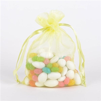 Baby Maize Organza Favor Bags