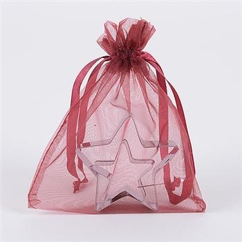 Wine Organza Favor Bags