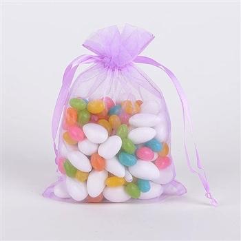 Lavender Organza Favor Bags
