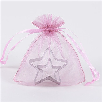 Colonial Rose Organza Favor Bags