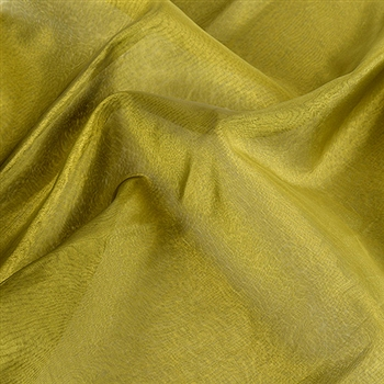 Green Black Two Tone Organza Overlays 28x3 Yards