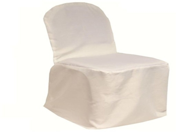 Ivory Poly Banquet Chair Covers