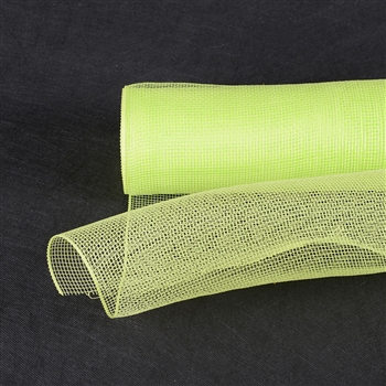 Lime Green Floral Mesh Wrap