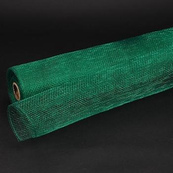 Emerald Floral Mesh Wrap