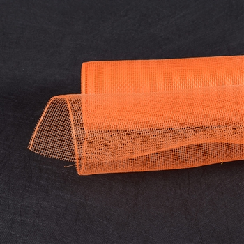 Orange Floral Mesh Wrap