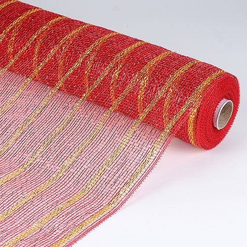Red Mesh Wrap