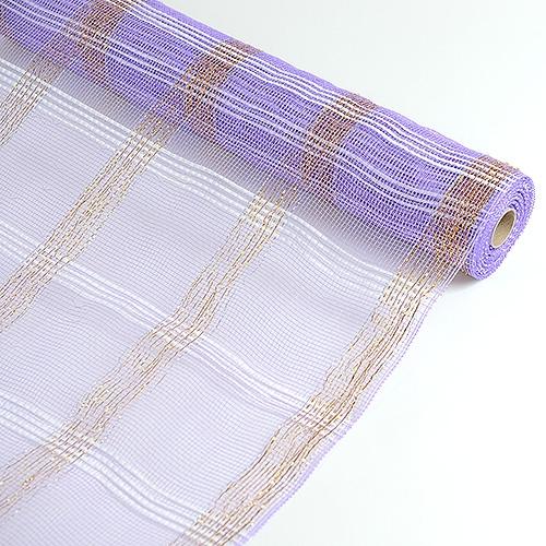 Lavender Floral Mesh Wrap