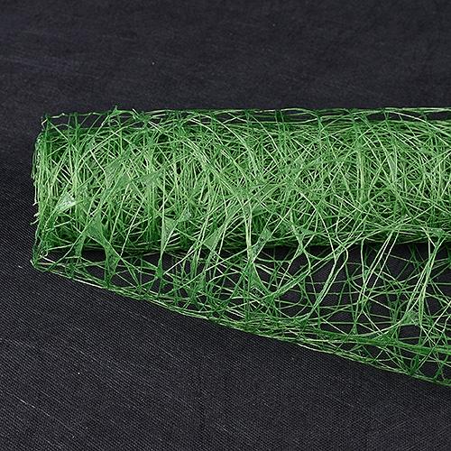Emerald Floral Mesh Wraps Sisal - 21 Inch x 6 Yards