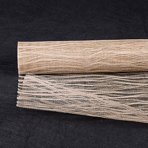 Natural Floral Mesh Wraps Twine - 21 Inch x 6 Yards